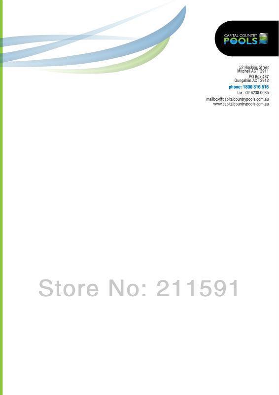 WholesaleOfficial Letterhead Printed Letterheads A421297cm – Official Letterhead