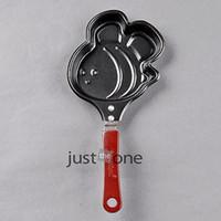 Cheap Wholesale-NEW Multi-Shapes for Home Breakfast Eggs Pancake Shaper Mini Frying Pan w Handle hot