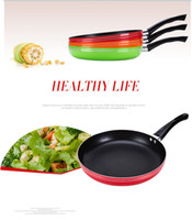 aluminum saute pan - Saute pan Heat Isolated Handle stainless steel aluminum non stick frying pan Induction Cooker kitchen cooking tool