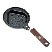 alu stock - Strawberry shape frying pan with cover or not Dia cm made of alu steel Teflon non stick coating baking pan cooking pan