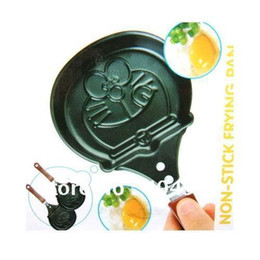 Wholesale Robot cat shape frying pan with cover or not Dia cm made of aluminium steel Teflon non stick coating baking pan cooking pan