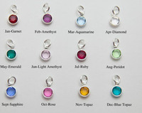 assorted glass pendants - Colors Assorted Alex and Ani Birthstone Charm Pendant For Glass Locket amp Bracelets Accessories mm