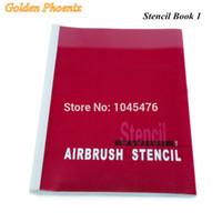 airbrush tatoo kit - Book Golden Phoenix Temporary Airbrush Tatoo Stencil Book For Spray Body Paint Makeup Designs