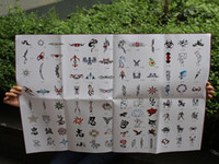 Wholesale New Arrived BOOKS Temporary Airbrush Tattoo Stencil Template New Booklet total books Designs can be choose