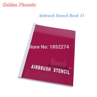 airbrush makeup books - Golden Phoenix Designs In Airbrush Stencil Book For Temporay Tattoo Makeup and Body Paint