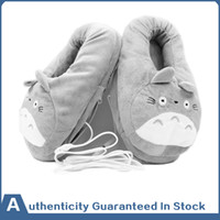 Wholesale USB Foot Warmer Shoes Soft Electric Heating Slipper Cosplay Cartoon Winter Indoor Home Shoes