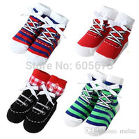 baby socks with grips - color Shoe socks baby amp toddler boys ankle shoe like socks with grips for Little Girls T SIZE S M pair