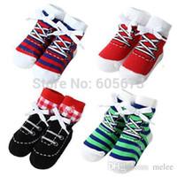baby grip socks - color Shoe socks baby amp toddler boys ankle shoe like socks with grips for Little Girls T SIZE S M pair