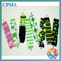 assorted leg warmer - New Style St Patrick s Day Cotton Baby Leg Warmer Assorted Designs pairs DHL