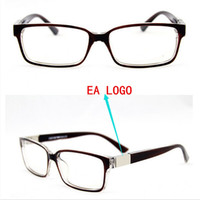 Wholesale designer brand eye glasses frame women EA9594 eyeglasses optical frame prescription clear lens eyewear armacao oculos de grau