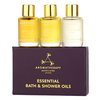 aromatherapy associates - Aromatherapy Associates Essential Travel Oil Bath Shower Message x ml