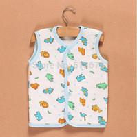 Wholesale Autumn New Cartoon thicker vest children cartoon Vest Boy Top