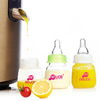 Wholesale Newly Baby Feeding Bottle Mamadeira Months Newborn Nursing Care Small Bottle ML Fruit Juice Milk Hot Sale