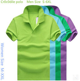 Wholesale New Arrival classic mens Crocodile polo Multicolor optional Solid Polo Shirt Camisa Polo For Men Made XL XL XL XL la
