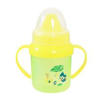 Gros-5pcs / lot de bouteilles d'eau Cartoon bébé tasses à boire pour les enfants d'expédition libre