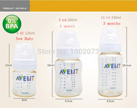 avent set - Brand Original AVENT Baby Feeding Milk Nursing Bottle Mamadeira oz newborn Starter Set