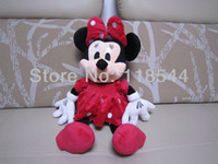 minnie mouse plush - 50cm red minnie mouse plush doll plush toy birthday presents kids toy kids doll one piece