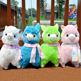 Wholesale 45cm Alpaca Peluches Toys With Earmuff Japan Alpacasso Plushies Toy Jumbo Plush Animals Toys For Children