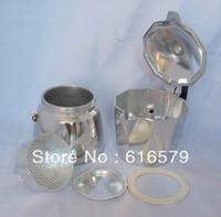 aluminum stovetop espresso - Aluminum Cup Latte Mocha Coffee Pot Stovetop Espresso Maker ML