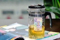 art glass makers - 200ml Kamjove Glass Gongfu Maker Press Art Tea Cup Pot Teapot Infuser TP