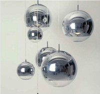 Silberne Kugeln Hngende Lebende Lampen Bewertungen Berzogen Ball Pendelleuchte Silber Glaskugel Restaurant Lampe Wohnzimmer