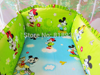 baby bedding custom - Baby bedding sets bumper cotton cartoon crib baby bumper bumper sheet custom baby care bedding set baby products