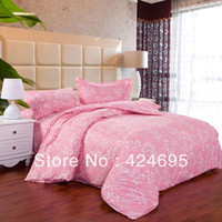 atmosphere size - Romantic atmosphere pattern King size bedding sets luxury include Duvet Cover Bed sheet Pillowcase Home textile