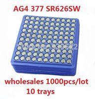 Wholesale AG4 SR626SW LR626 LR66 V377 Alkaline A SR626 GA4 Watch Button Cell Coin Battery