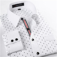 Wholesale Slim fit men shirt Mens floral shirts fashion long sleeve dress shirts famous brand xl casual shirt