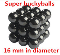Wholesale mm Buckyballs Magnetic balls Neocube Magic cube Magnet Puzzle black bukyballs for gifts