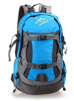 Wholesale man and woman outdoors backpack camping bag sports Hiking bag waterproof whole sales WB29