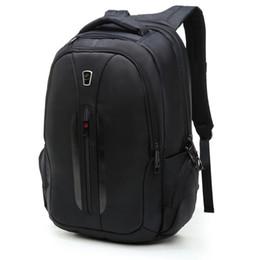 Wholesale Hot Selling Black Male Backpack Bag Men s Backpack Massage Back Pack Teenagers High Class School Backpacks Computer Notebook