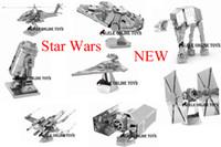 adult statues - D puzzle for adult New FOR Star Wars D Nano metal Puzzle DIY juguetes educativos brinquedos para as crian