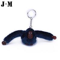 Wholesale quot Fashion Cute Plush Monkey Key Chain Kippl Bag Accessories Monkey Decoration Orangutan For Car Key Ring Bag Pendant