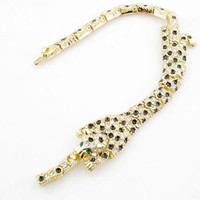 bb tiger - leopard tiger bracelet k yellow gold plating COLORS BB Christmas sale Beauty Paradise Rihood Trading green eyes