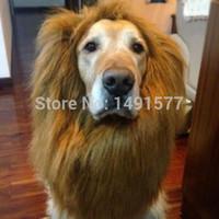 Wholesale Large Pet Halloween Costume Dogs Cat Lion Mane Wig Christmas Fancy Dress Up