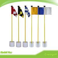 backyard golf - Backyard Practice Golf Hole Pole Cup Flag Stick Putting Green Flagstick Green Flag