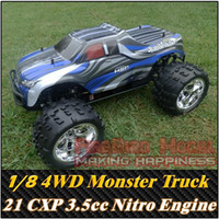 rc nitro engine - Bull GP1 Scale cc Nitro Gas Engine Power WD off Road Monster truck Rc Car toys