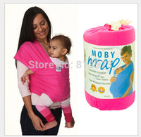 baby carrier wrap instructions - Hot Sale New Brands Baby Backpacks and Carriers Genuine Top Cotton Elastic Solid Baby Carrier Wrap With DVD Instruction