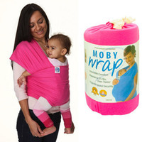 Wholesale embrace with wrap baby sling Cotton Elastic Solid Baby Wrap genuine elastic mochila portabebe baby bag carriers for children