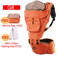 best infant seat - Hot baby hold waist belt baby carrier best Hipseat Belt kids Infant hip Seat double shoulder stool Backpacks Carriers