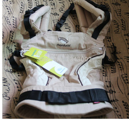 Wholesale Hot Selling most popular baby carrier Top baby Sling Toddler wrap Rider canvas baby backpack high grade Activity manduca