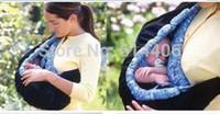 Wholesale Comfort New Born Toddler Baby Carrier Infant Wrap Bag Cradle Pouch Ring Sling Backpack Stretch Wrap Swaddling Front Bag
