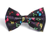 al por mayor pajarita arco iris-Envío-Bow mayor-Libre corbata para hombres de las mujeres unisex de la manera