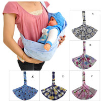 Wholesale Baby Sling shoulder for summer newborn carrier ajustable infant carrier sling wrap cotton transporting suspender