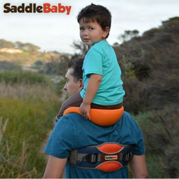 Wholesale-SaddleBaby - Safest Hands-free Shoulder Carrier  Baby Carrier   Child Carrier  Baby Rider- Factory Supply, Free Shipping from safe baby carriers suppliers