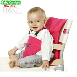 Wholesale update Baby Chair Portable Infant front Seat Lunch Dining Chair Seat Safety Belt Feeding High Chair Baby Carrier Backpacks