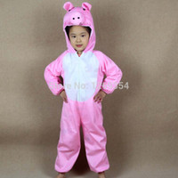 animal games children - Children Animal Pink Pig Costumes For Kids Halloween Christmas Party Cartoon Character Costume Cosplay Performance Clothes