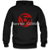 Wholesale New Anime Naruto Uchiha Sasuke Clothing Cosplay Coat Hoodies White Gray Black Purple Red Yellow Sweatshirts