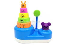 baby playtime - Hot sale Baby toy Playtime Poun Ding Stacker Colourful Toy